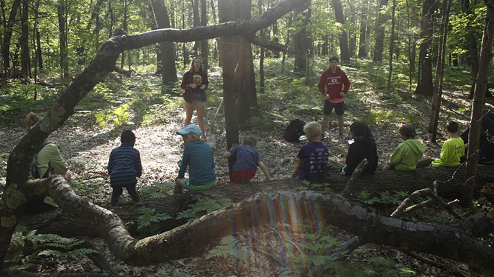 children at non-profit charity GO Camp Roger