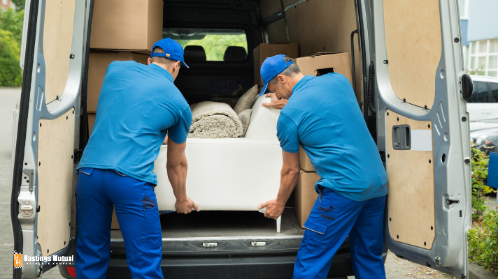 moving furniture into a new home