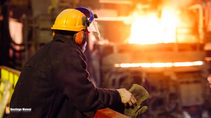 worker at foundry business
