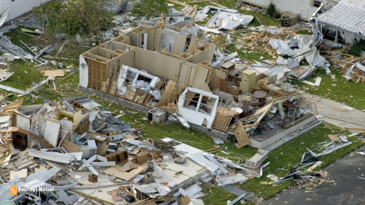 businesses damaged by tornado